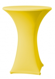 Stehtisch husse Samba D1 Dena Stretch, Farbe Gelb 126