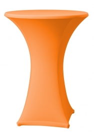 Stehtisch husse Samba D1 Dena Stretch, Farbe Orange 127