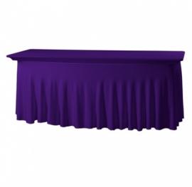 Tischhusse Grandeur Stretch Dena 183 x 76 x 73 cm Violett 136