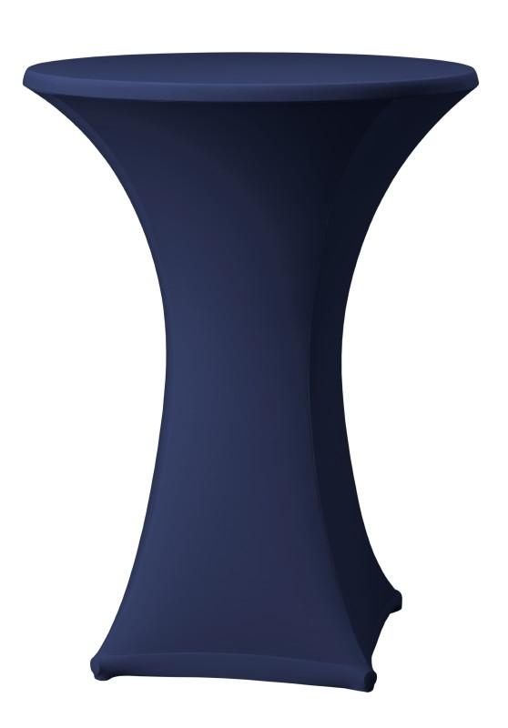 Stehtisch husse Samba D1 Dena Stretch, Farbe Dunkel Blau 133
