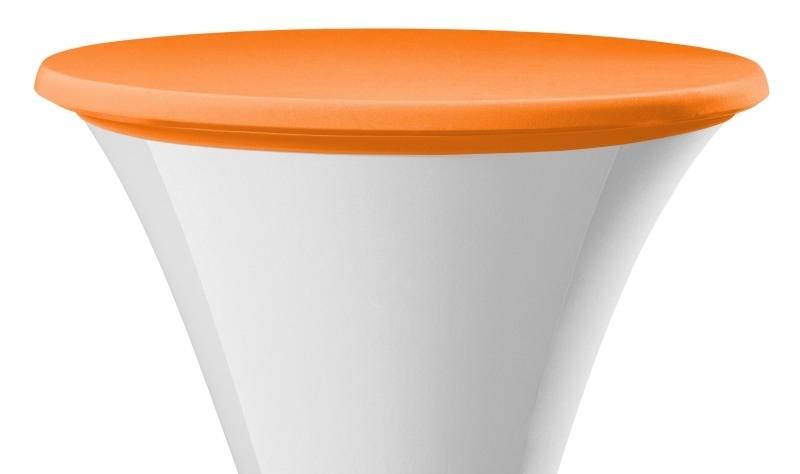 Top Cover / Tischplatten Bezug Samba D1 und D2 Dena Stretch, Farbe Orange 127