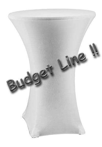 Stehtisch husse Budget