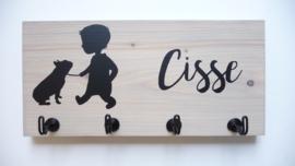 Kinderkapstok van steigerhout kinderkamer