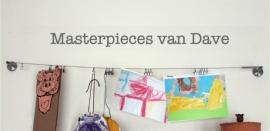 Muursticker masterpieces van...
