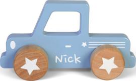 Little dutch pick-up met naam NIET OP VOORRAAD
