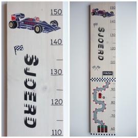 Groeimeter met naam formule 1 race