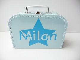 Koffertje met naam door ster