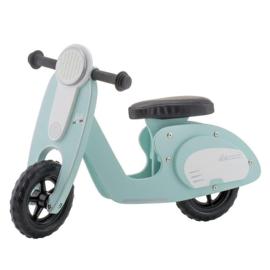 Houten loop scooter vintage