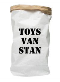 Paperbag met naam Toys van ...