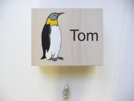 Muziekdoosje eigen ontwerp voor Tom