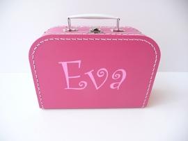 Koffertje met naam meisje