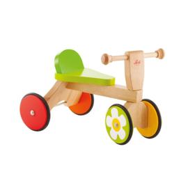 Houten loopfiets baby buggy