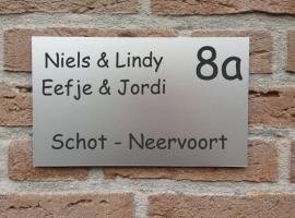 Naambord voordeur Voornamen midden
