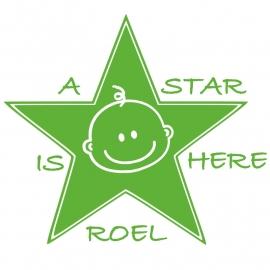 Deursticker ster