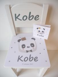gepersonaliseerd kraamcadeau geboortestoeltje met geboortekaartje Kobe