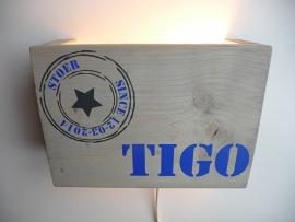 Origineel kraamkado lamp stoer