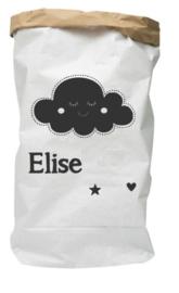 Paperbag van geboortekaartje Elise leuk kraamkado