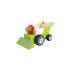 Houten oogstmachine/maaier