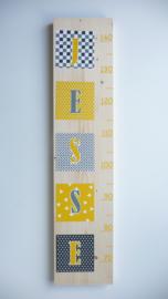 Groeimeter op basis van jouw geboortekaartje