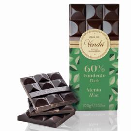 Venchi - Chocoladereep puur en munt