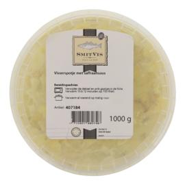 Visserspotje saffraansaus