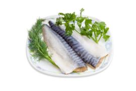 Makreelfilet met huid