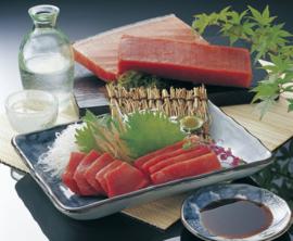 Tonijnfilet, rood, Sakublok voor sushi