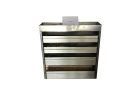 Aluminium kleppenkast Cu-046