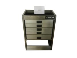 Aluminium ladenkast Cu-038