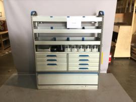 Aluminium sortimo ladenkast RT-104