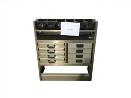 Aluminium Ladenkast ST-022