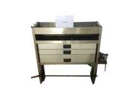 Aluminium ladenkast Cu-009