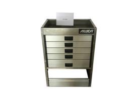 Aluminium ladenkast Cu-040