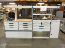 aluminium ladenkast Sortimo RT-105