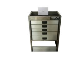 Aluminium ladenkast Cu-041