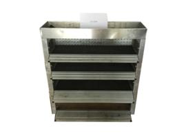 Aluminium kleppen kast Cu-029
