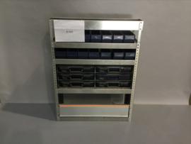 Aluminium schappenkast Finnerup Bi-004