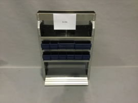Aluminium schappenkast  Finnerup Bi-006