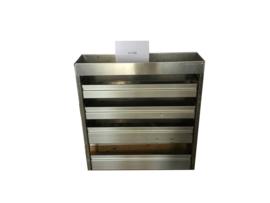 Aluminium kleppenkast Cu-048