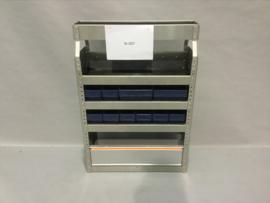 Aluminium schappenkast Finnerup Bi-007