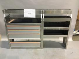 Aluminium inrichting Finnerup Bi-030