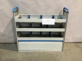 Aluminium schappenkast RT-107
