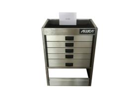 Aluminium ladenkast Cu-033
