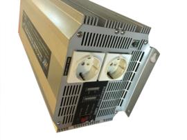 Omvormer 12V 230V 2500Watt  Omv-021