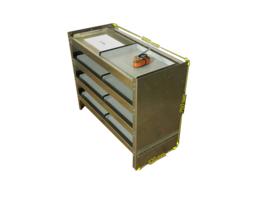 Aluminium Schappenkast G-004
