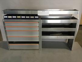 Aluminium bedrijfswagen inrichting Finnerup Bi-050