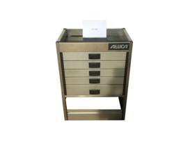 Aluminium ladenkast Cu-034