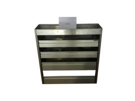 Aluminium kleppenkast CU-018