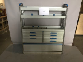 Aluminium Sortimo ladenkast RT-100