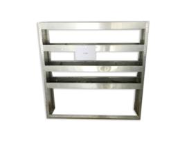 Aluminium schappenkast Z-006 - Bedrijfswagen Inrichtingen